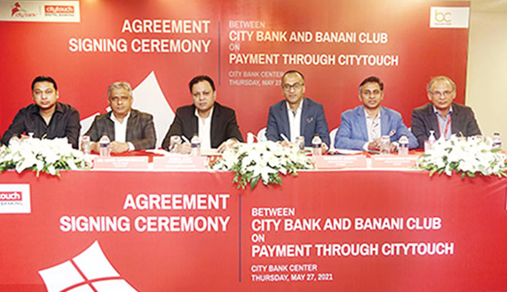 City Bank signs deal with Banani Club
