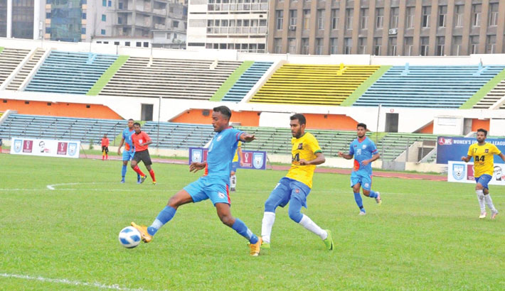 Booters draw with Sk Jamal