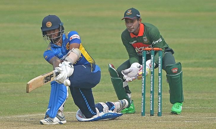 Bangladesh need 287 to win against Sri Lanka