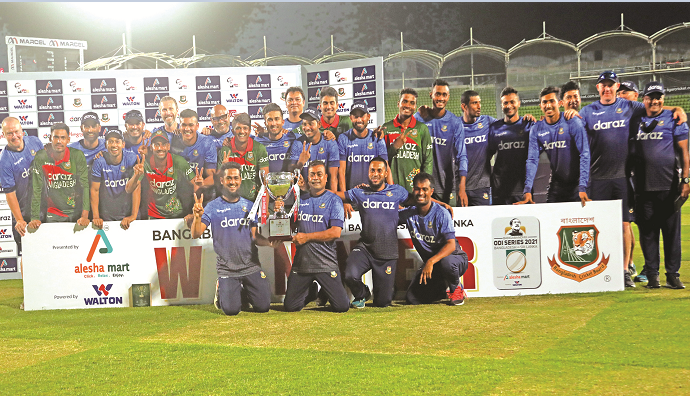 Consolation win for Sri Lanka