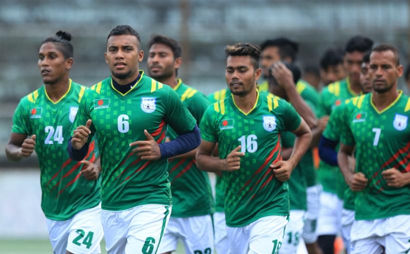 National football team off to Qatar