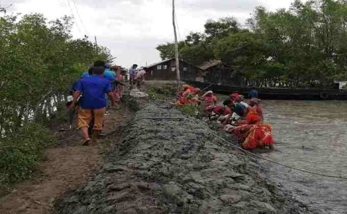 Cyclone Yaas: 50 villages in Khulna inundated by tidal surges