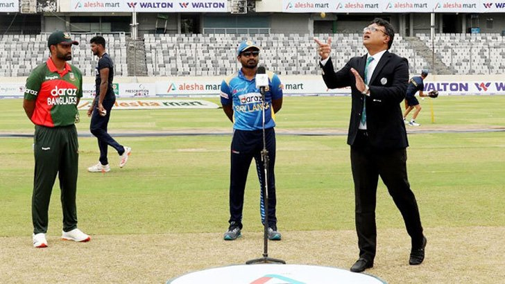 Sri Lanka win toss, opt to bat against Bangladesh