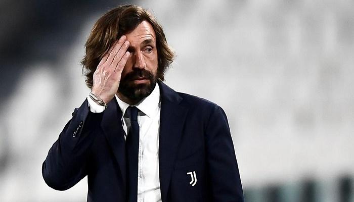 Juventus sack coach Pirlo after one season