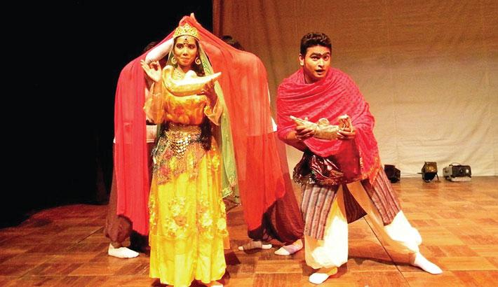 Swapnadal's 'Jadur Pradip'at International Theatre Festival