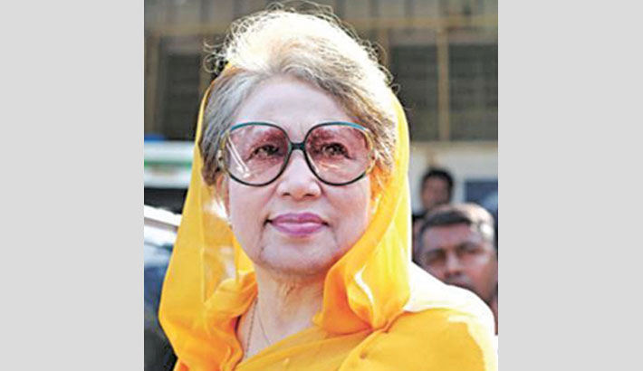 Khaleda suffering from fever