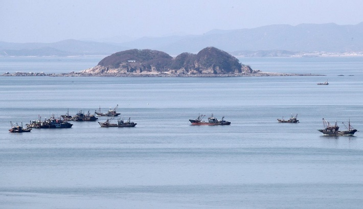 Hundreds of illegal Chinese fishing boats are taking our catches: South Korea