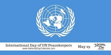 Int'l Day of UN Peacekeepers observed