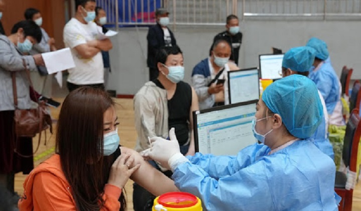 Over 600 mln COVID-19 vaccine doses administered across China