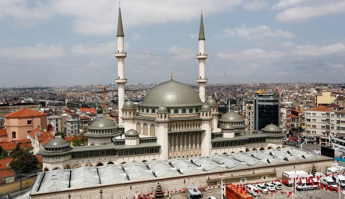 Taksim Square: Erdogan inaugurates controversial mosque in Istanbul