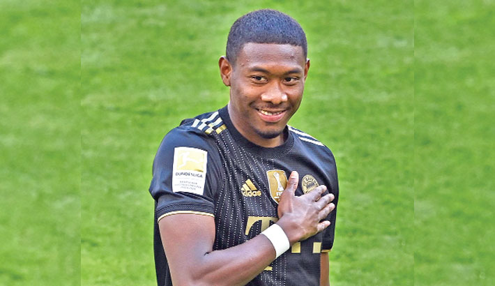 Alaba signs for Real