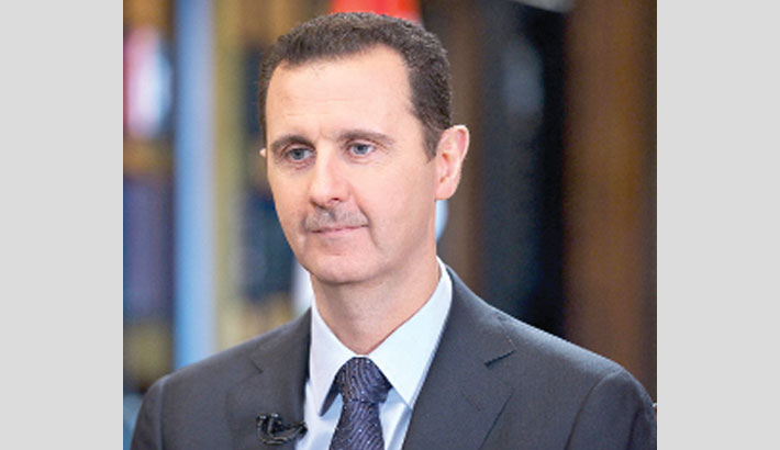Assad re-elected as Syrian president