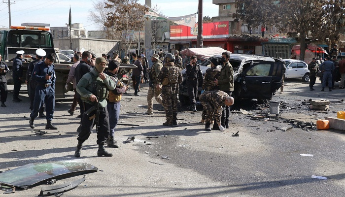 Afghan lecturers among four dead as bomb hits bus: officials