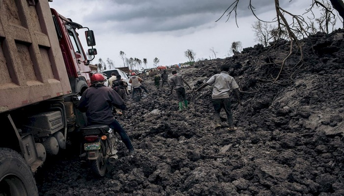 DR Congo president says situation 'under control' after volcano eruption