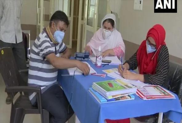 J-K: COVID-19 vaccination drive held in Rajouri's Manjakote