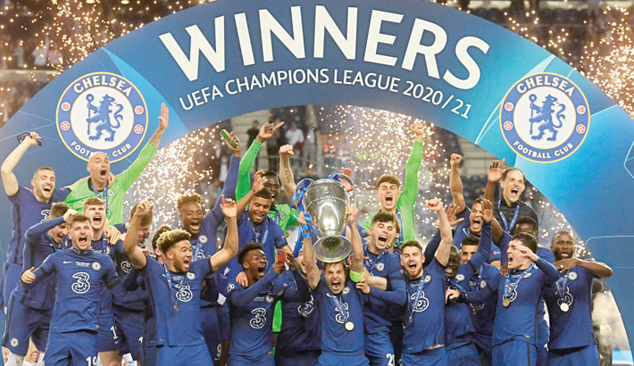 Chelsea clinch Champions League title