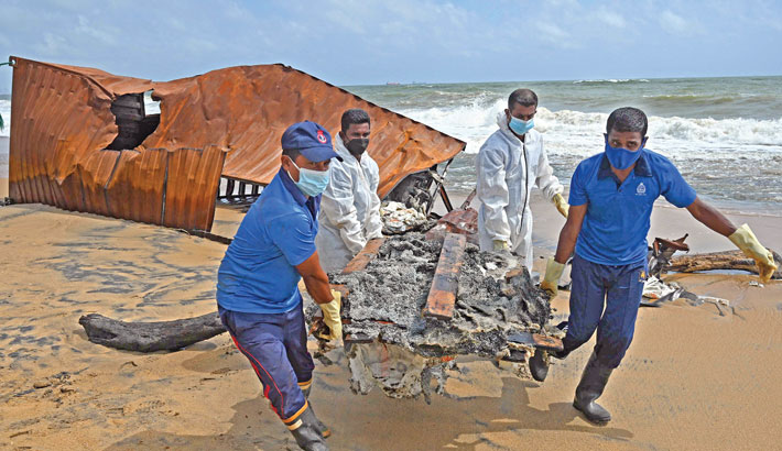 Sri Lanka to sue Singapore ship owners over marine pollution
