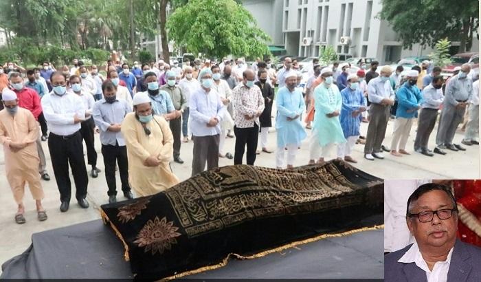 FE Executive Editor Shahiduzzaman Khan laid to rest