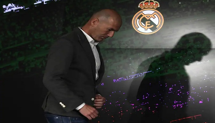 Zidane says quit Real Madrid because of club's lack of 'faith'