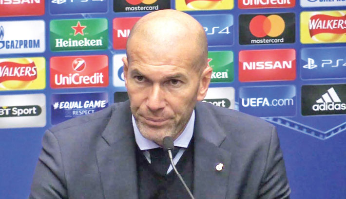 Zidane says he quit Real because of club's lack of faith