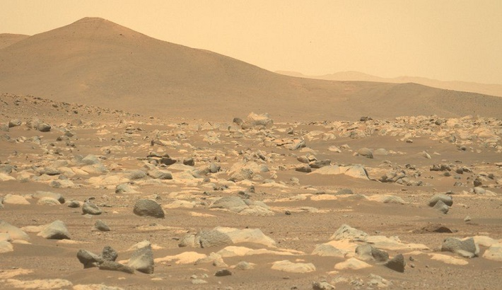Mars: Nasa's Perseverance rover's first 100 days in pictures