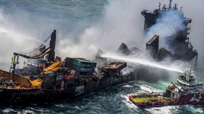 Sri Lanka ship fire extinguished after 13 days