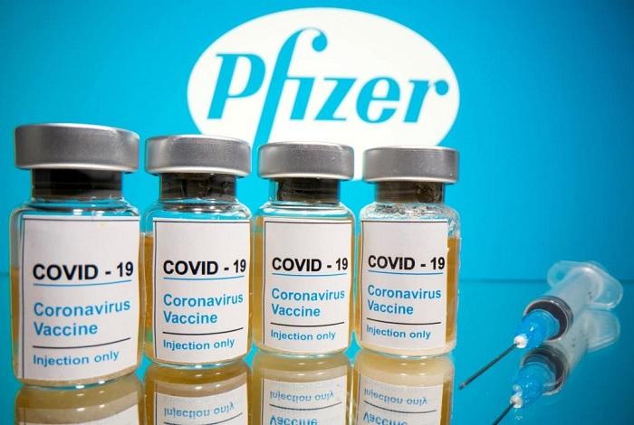 1st segment of Pfizer vaccine arrives