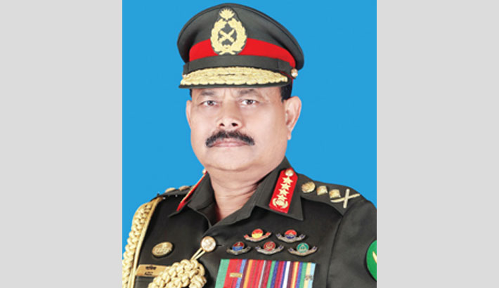 Army chief leaves for Maldives