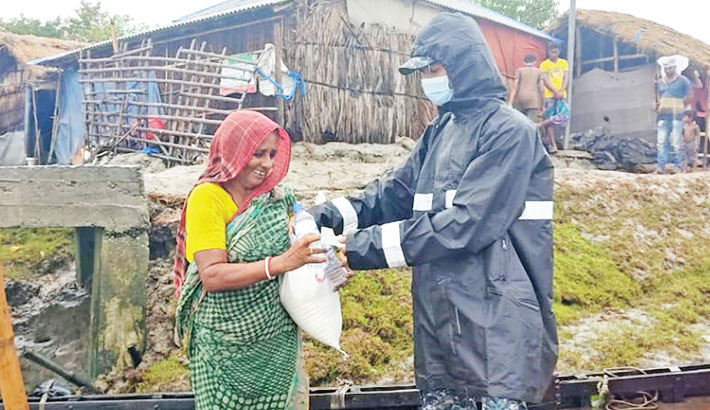 Navy provides aid for Yaas victims