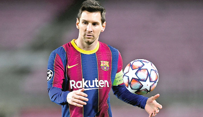 Messi negotiations going well, says Barca president