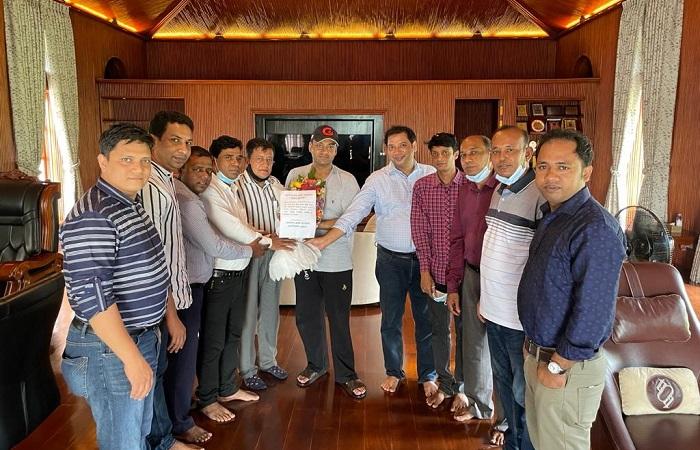 Crime Reporters Association of Bangladesh congratulates Sayem Sobhan Anvir
