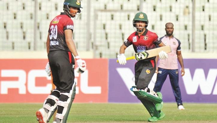 All-round Mahmudullah leads Gazi Group to first win