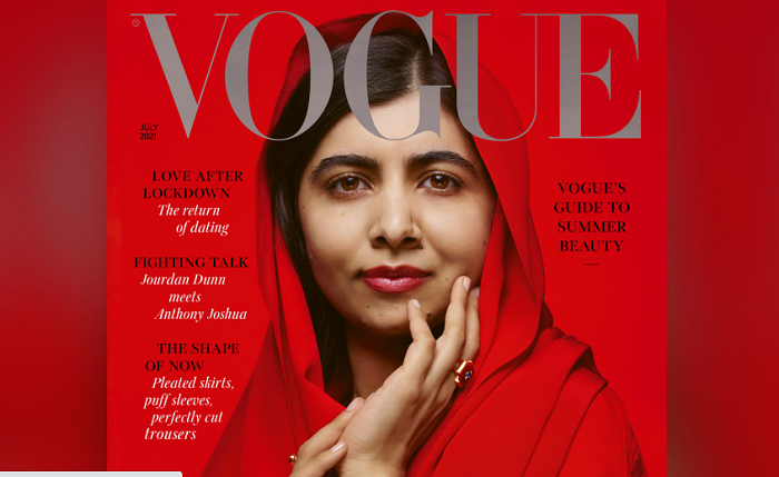 Malala unveiled as new Vogue cover star