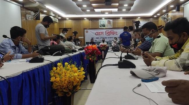 Special lockdown in Naogaon municipality, Niamatpur upazila