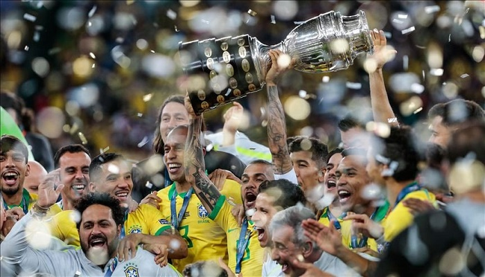 Brazil races clock, chaos to pull off Copa America