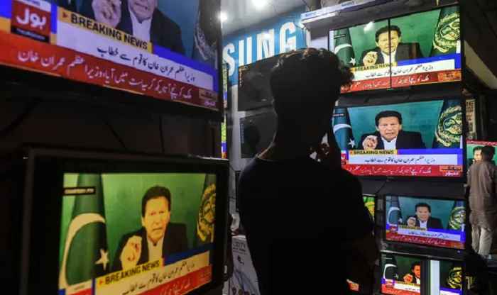 Imran Khan has promised freedom of the press in Pakistan.Journalists are under attack