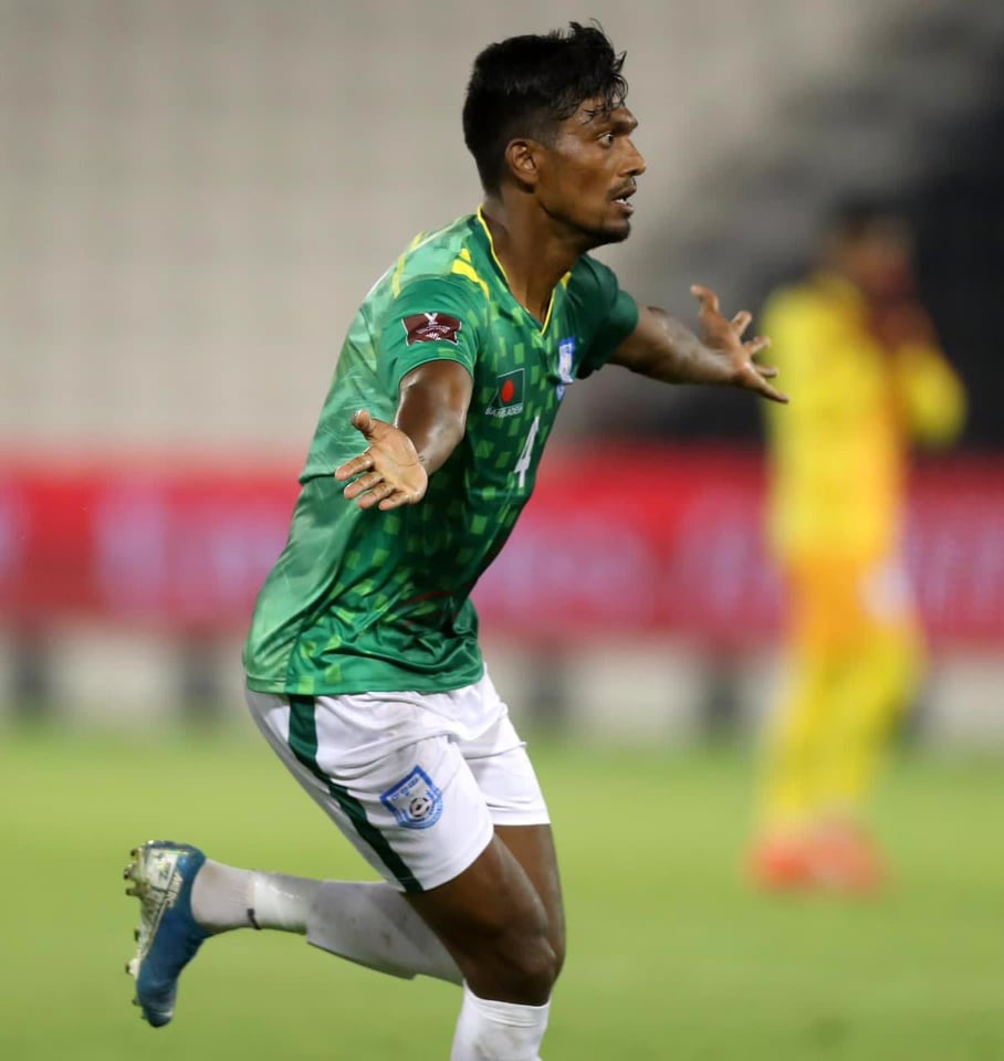 Topu's late goal gives Bangladesh surprise point against Afghans