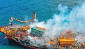 Oil spill fears as ship sinks off Sri Lanka
