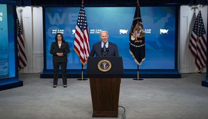 US to swiftly boost global vaccine sharing, Biden announces