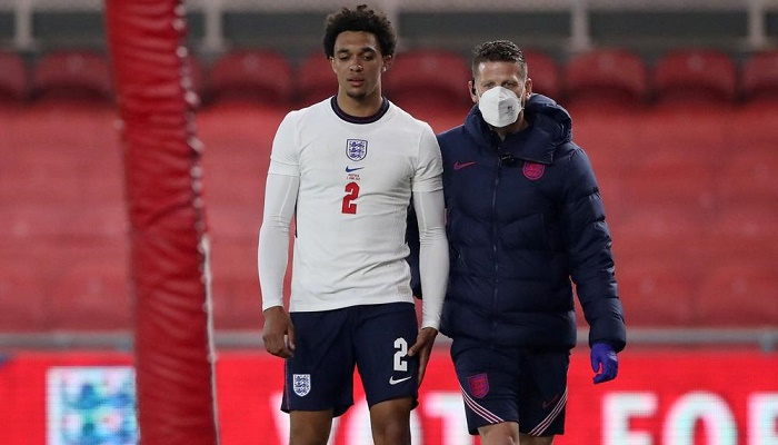 England's Alexander-Arnold ruled out of Euro 2020