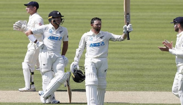 New Zealand's Conway makes debut double century before Root helps revive England