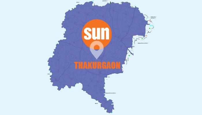 2 killed, 6 hurt in Thakurgaon road crash