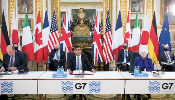 G7: Rich nations back deal to tax multinationals