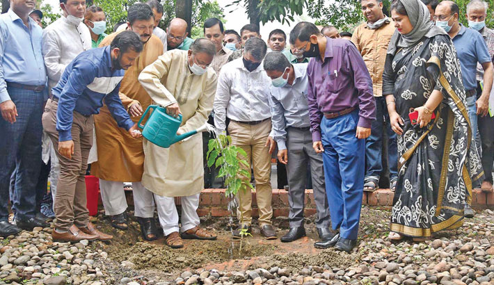 Launch social movement to save nature: Hasan