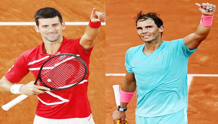 Djokovic, Nadal set French Open landmarks as Federer triumphs on silent night