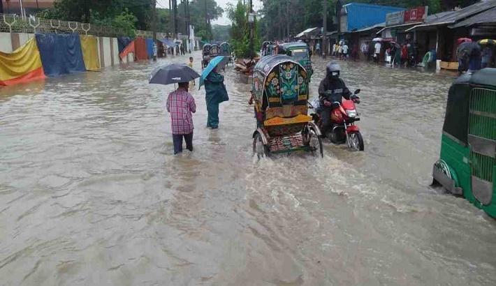 Incessant rains: Parts of Chattogram city go under water