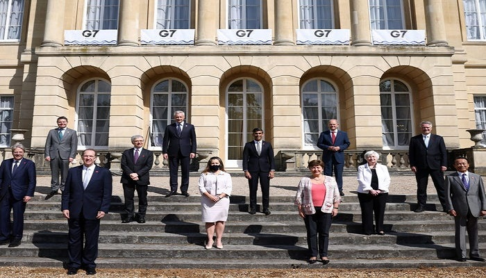 G7 leaders strike deal to tax Google, Amazon and other tech giants