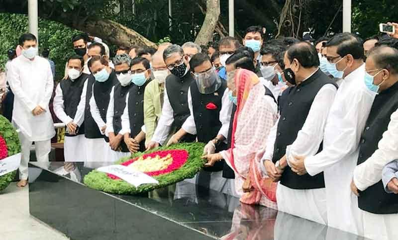 AL pays homage to Bangabandhu on 6-Point Day