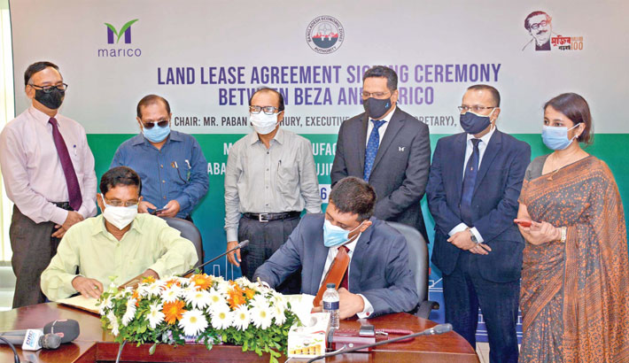 Marico signs deal to open factory  at BSMSN