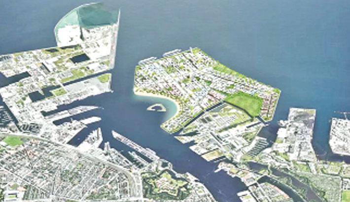 Denmark approves artificial  island off Copenhagen